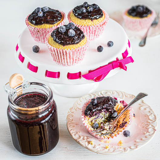 Vanilla-Kissed Fresh Keto Blueberry and Lemon Marmalade | Low-Carb, So Simple