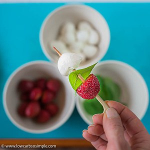 Mini Mozzarella Ball Added | Low-Carb, So Simple