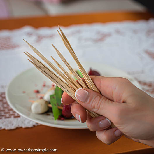 Bamboo Skewers   Low-Carb, So Simple