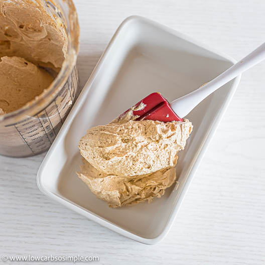 Transferring into Ceramic Dish | Low-Carb, So Simple
