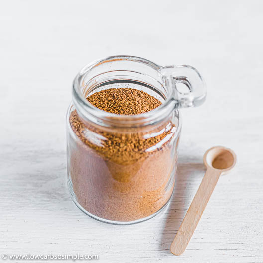 Transferred into a Glass Jar | Low-Carb, So Simple