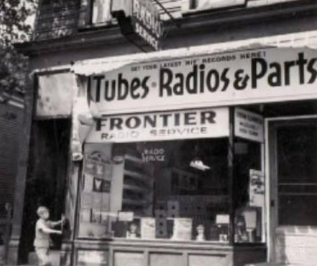 Radio store Buffalo, NY ca 1950.
