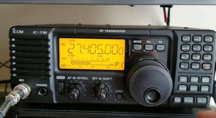 ICOM IC-718 RTX