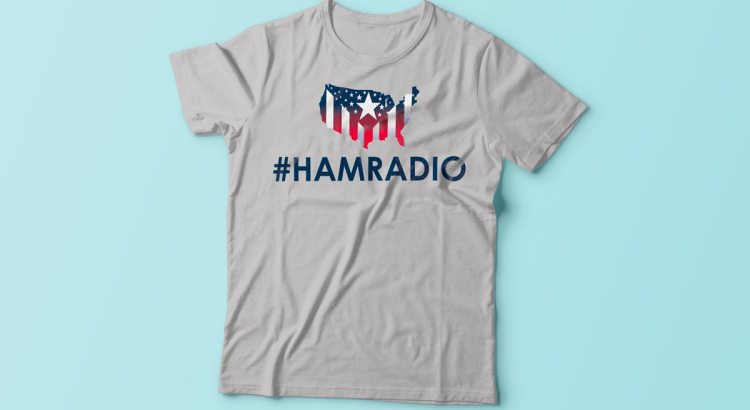 4th of july tshirts hamradio
