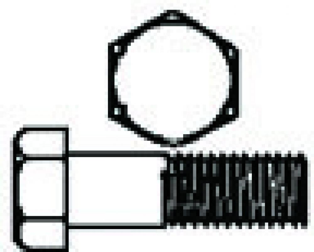 medium resolution of 1 4 20 x 3 4 hex bolts zinc in jar