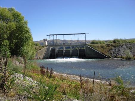 River intake gates