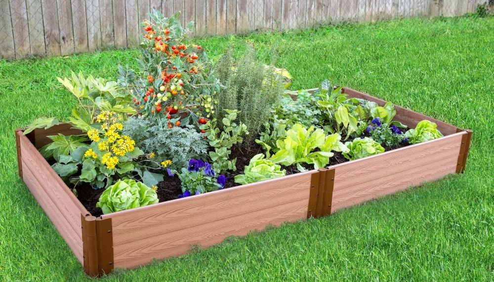 how to build a raised garden bed lowe