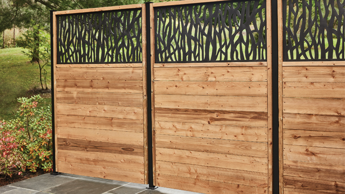 7 ideas for backyard privacy lowe s