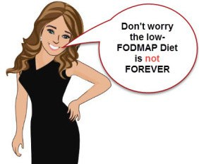 low FODMAP diet is not forever