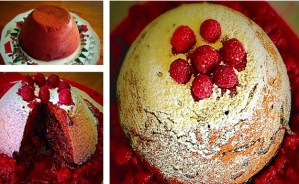 Low FODMAP Steamed Chocolate Christmas Pudding