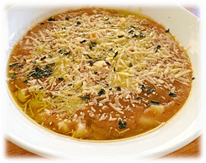 Mixed Vegetables Minestrone Soup