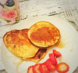Choc-Chips Oatmeal Pancakes