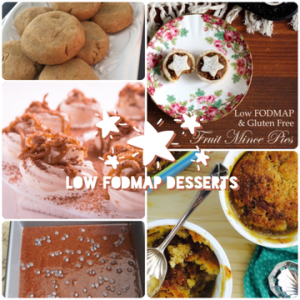 #026 Special Holidays & Christmas Low FODMAP Desserts
