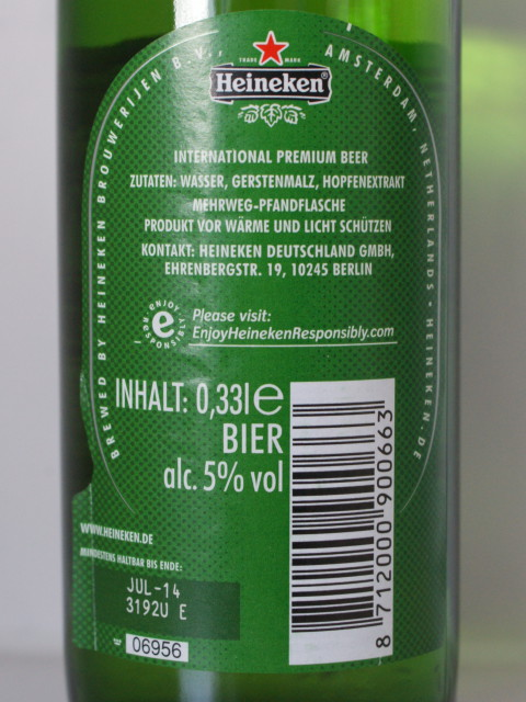 Heineken Gluten Test Low Gluten In Beer