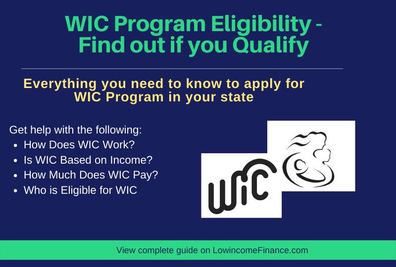 """WIC Program Eligibility"""