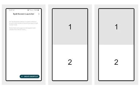 Split Screen Launcher