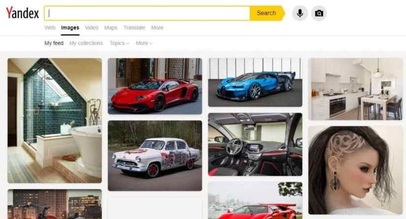 Yandex Reverse Image Search