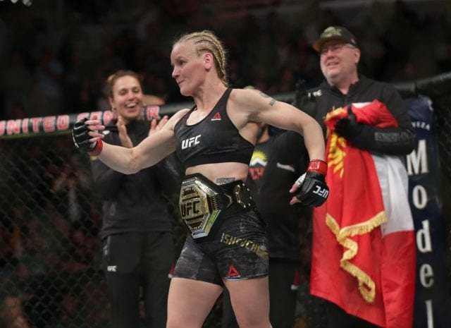 Valentina Shevchenko Annihilates Jessica Eye With Head Kick KO