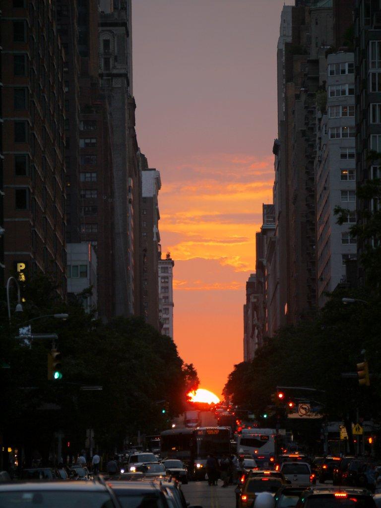Manhattanhenge  Charlie Steins Photoblog