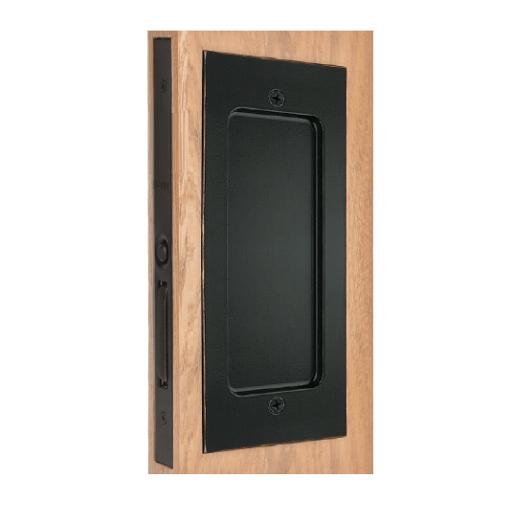 Emtek 2116 Modern Rectangular Dummy Pocket Door Mortise