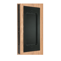 Emtek 2116 Modern Rectangular Dummy Pocket Door Mortise