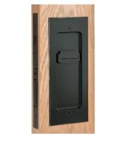 Emtek 2113 Modern Rectangular Keyed Pocket Door Mortise ...