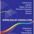 Solid Vision, stand- en presentatiemateriaal