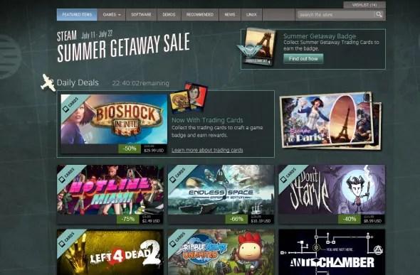 Steam Summer Getaway Sale 2013