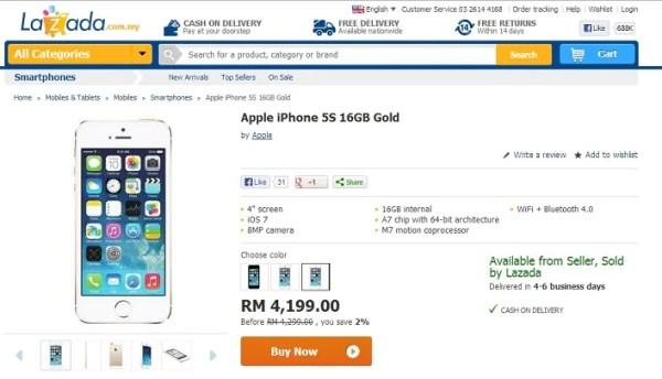 lazada-iphone-5s-gold