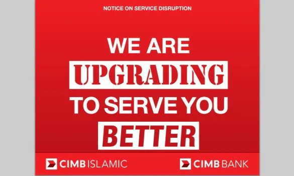 CIMB Bank To Deploy System Upgrade From 31 Jan To 3 Feb