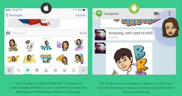 Bitstrips Launches Bitmoji, An App that Turns Your Bitstrips