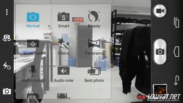 Huawei Honor 6 Main Camera Interface