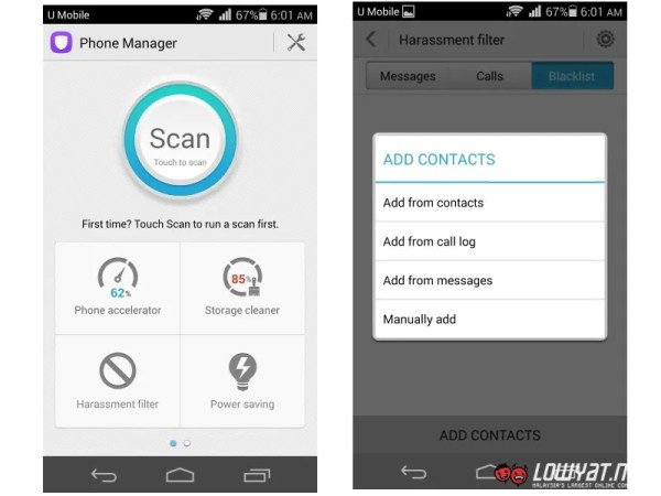 Huawei Honor 6 Phone Manager