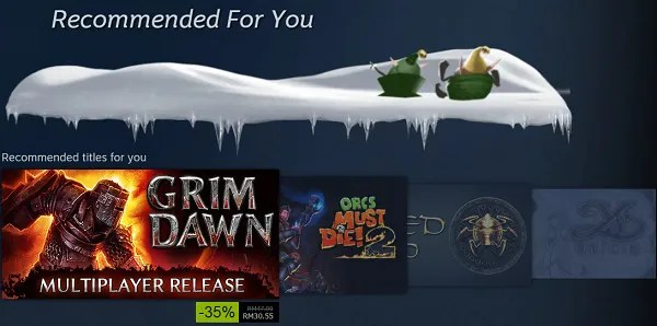 More Steam Holiday 2014 Sales