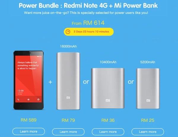 Redmi NOte Power Bundle