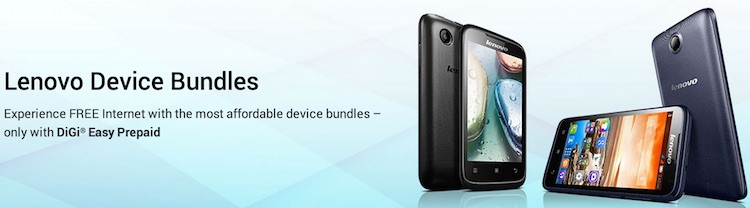 DiGi Offering Contract-Free Bundle for Selected Lenovo