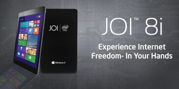 Joi 8 Windows 8.1 Tablet with 3G by SNS Network