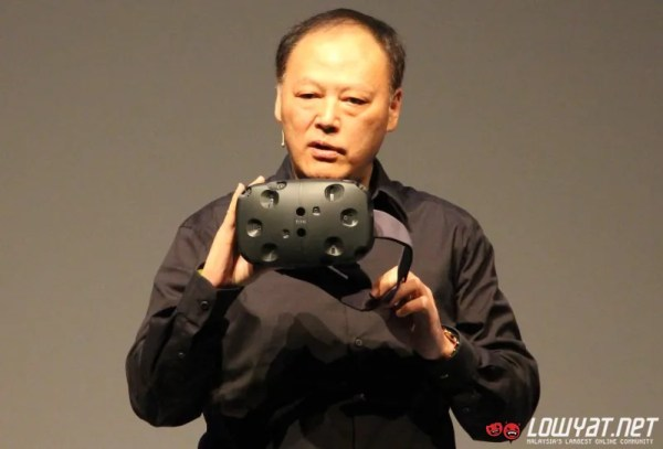 HTC Vive Virtual Reality Headset