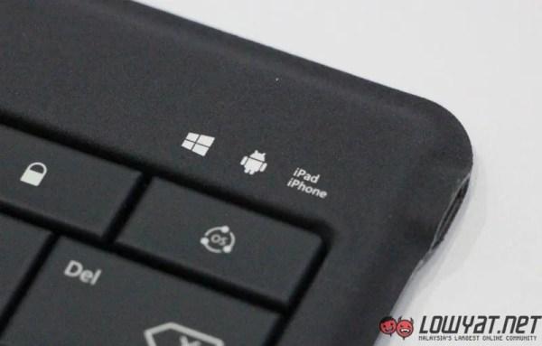 Microsoft Universal Foldable Keyboard Hands On 09