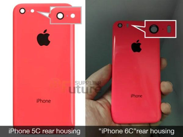 iPhone 6c rear casing