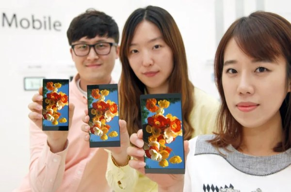LG Display 5.5-Inch QHD IPS Panel for LG G4