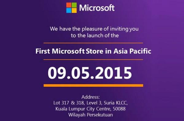 Microsoft Store Malaysia, Suria KLCC