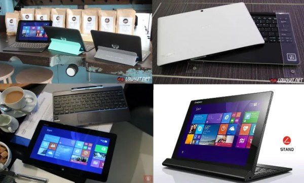 Competitors for Surface 3