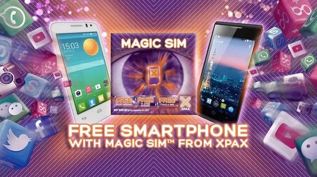 Contract-Free Prepaid Phone Bundle from Top 3 Malaysian