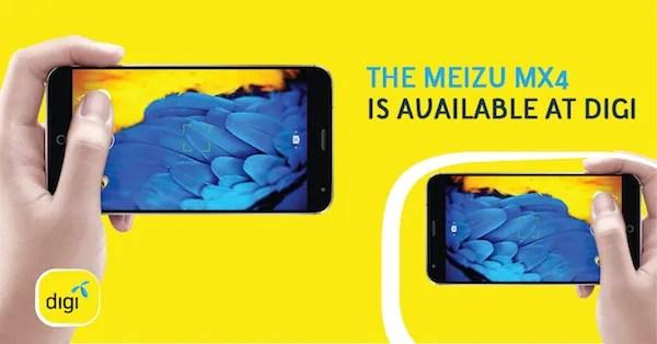 Digi Meizu MX 4 Updated