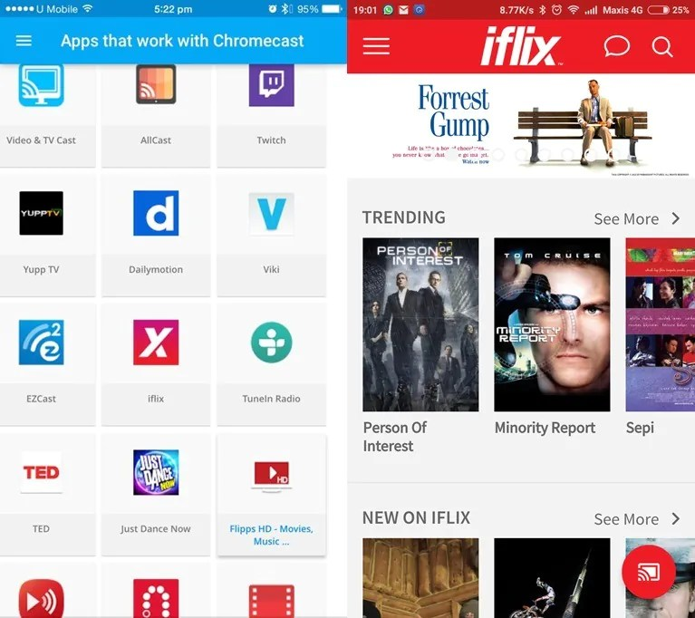 iflix Now Supports Chromecast, Enjoy TV Series and Movies on