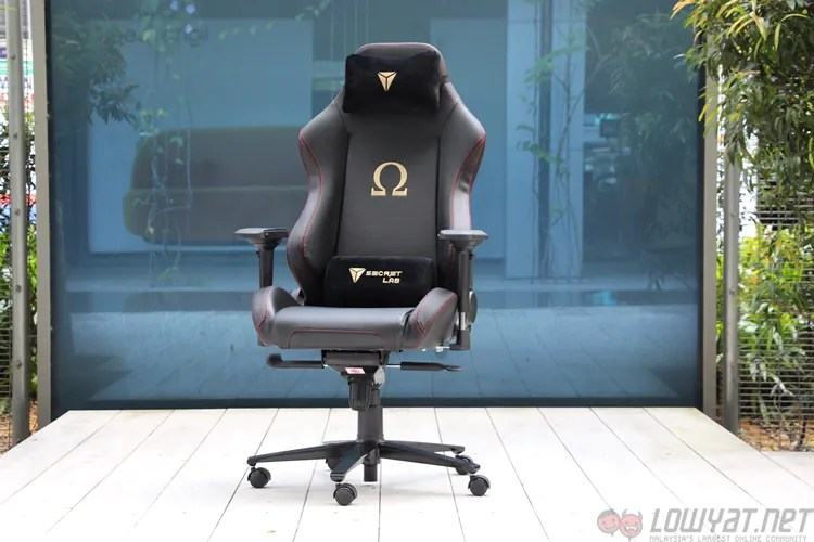 expensive gaming chair baby high covers australia lightning review: secretlab omega stealth - as comfortable it looks lowyat.net
