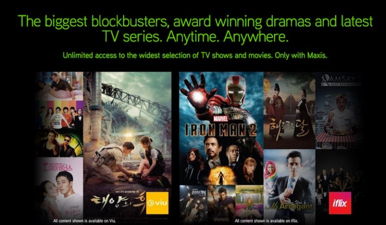Maxis is now Offering 2 Months Free Subscription on iflix