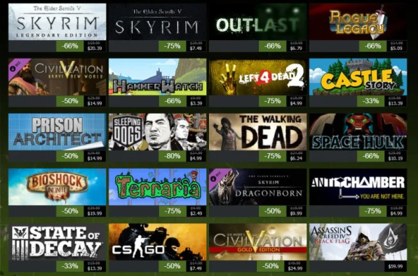 Image result for black friday steam sales 2016
