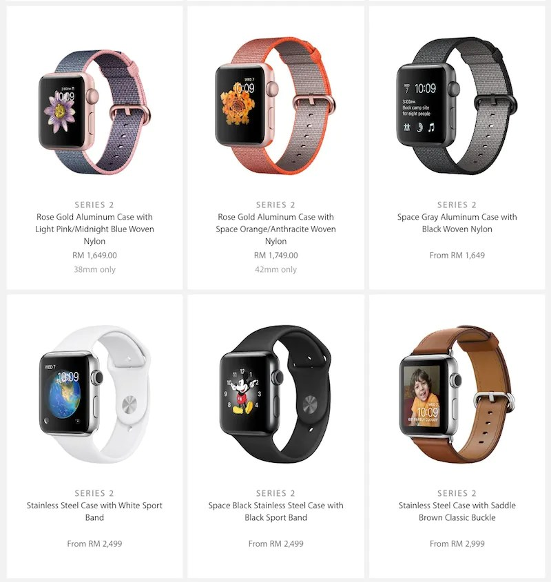 Apple Watch Series 2 Gets Priced in Malaysia; Series 1 Gets Price Drop   Lowyat.NET